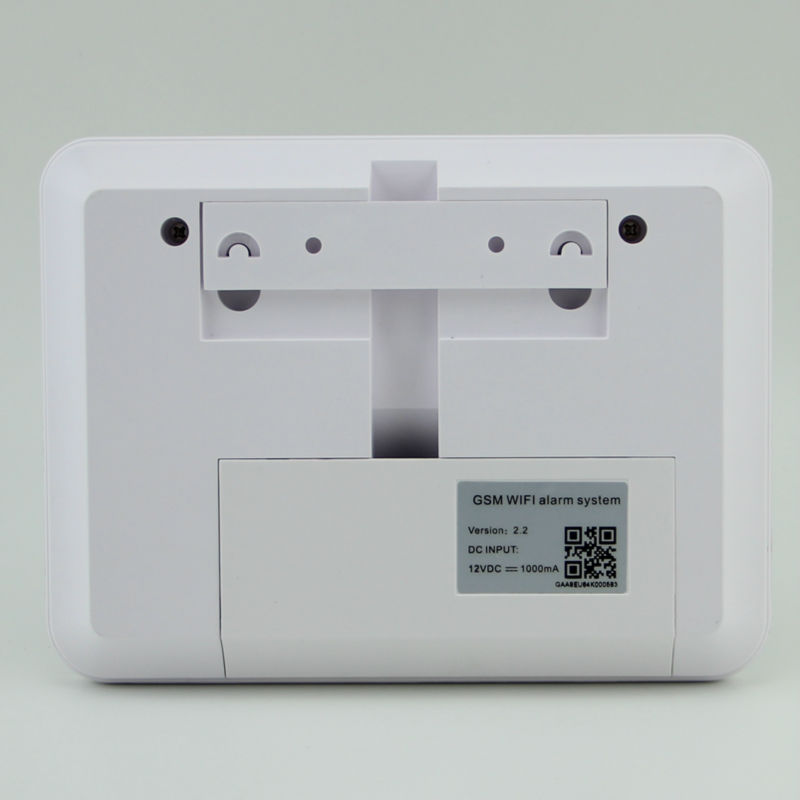 Купить Бесплатная доставка 2016 G90B WI-FI GSM сигнализация с ip-камеры наблюдения, RFID клавиатуры домашней охранно-пожарной сигнализации с большие сирена