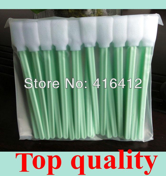 ( 50 swabs/pack) High quality cheap price sponge stick foam tip clean swab(China (Mainland))