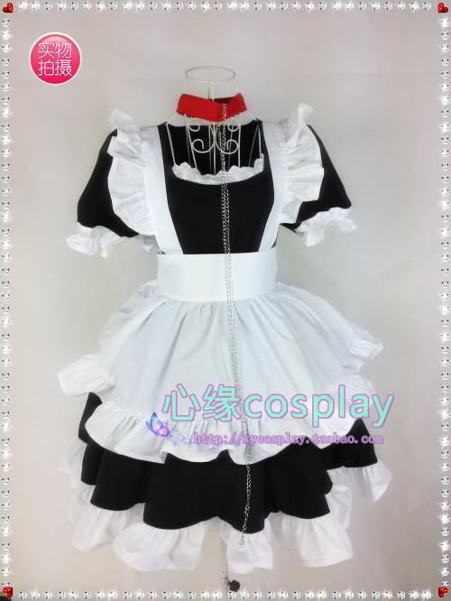 Inu x Boku SS Cosplay Roromiya Karuta Maid Costumes Anime - Size P002 cosplaydaddy store