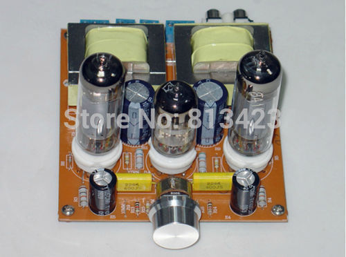 HIFI tube 6N2+6P15 single-ended Class A power tube amplifier board diy kit(China (Mainland))