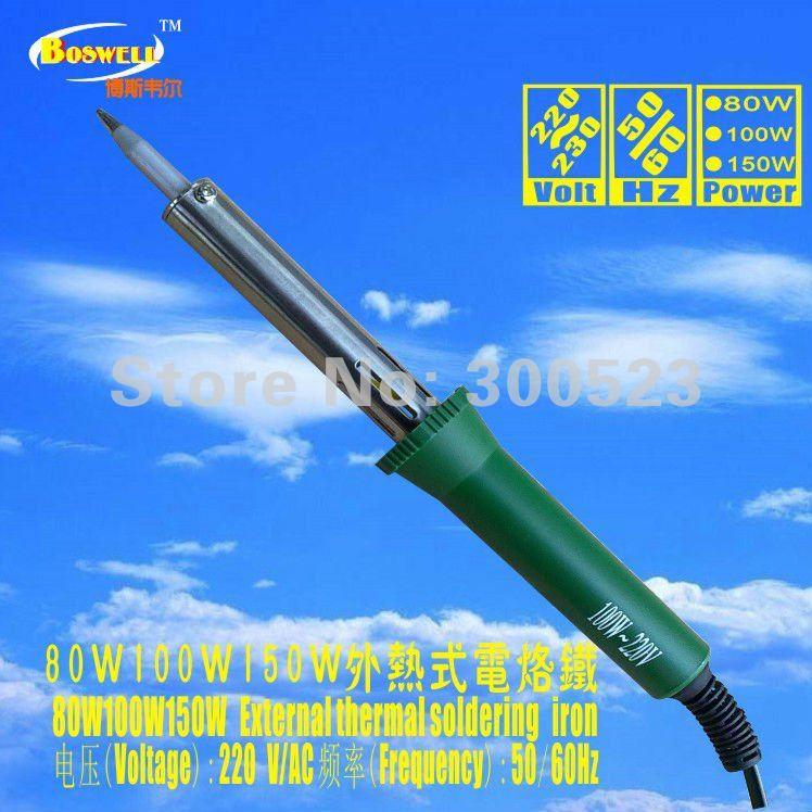 DIY enthusiasts necessary soldering iron, European plug, 100W, 220V, . - geli tools Store store