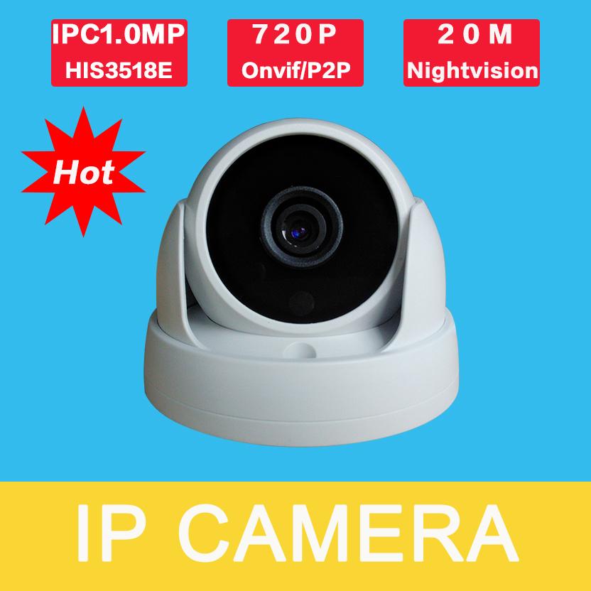 IP3100CR-E-B1 View CCTV Cameras Online IP ONVIF IP Camera 720P Outdoor 1.0MP H.264 Network HD Camera Infrared  P2P Plug and Play(China (Mainland))