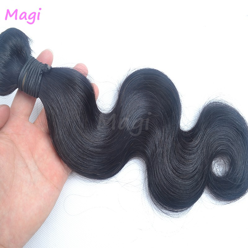 3 Piece unprocessed virgin peruvian hair 100g/piece virgin human hair natural human hair weave