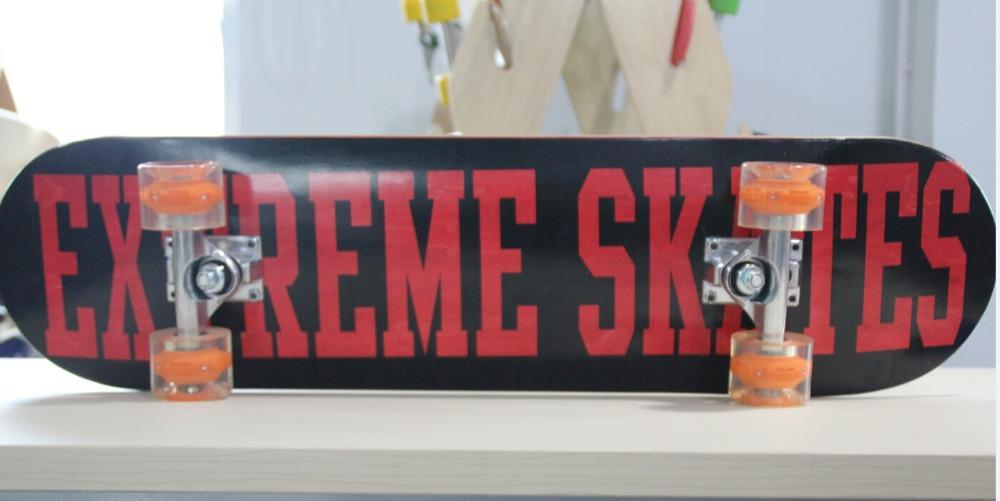 Street Skateboard Professional 8*32 inch Deck Red skateboard - Online Shop store