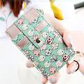 Women s Credit Card Holder Bank Card Wallets Leather Cartoon Zipper Coin Bag Flower Female Fashion