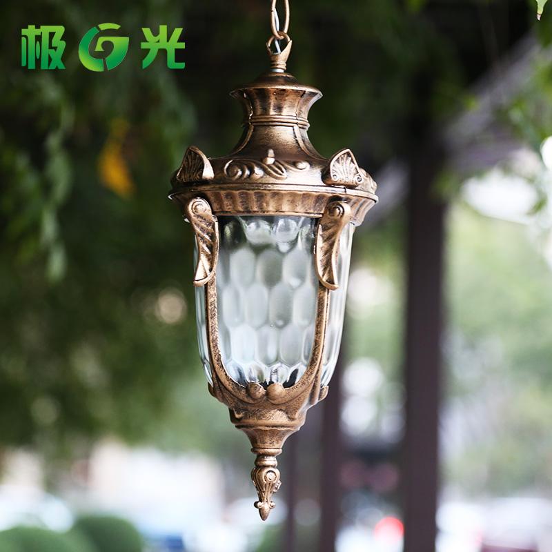 Outdoor wall lamp waterproof  outdoor courtyard post column headlights European landscape lighting<br><br>Aliexpress