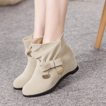 2015 мода мех рыцарь женские теплые ботильоны ботинки женщин и осень зима женская обувь новый туфли-botas обувь женщины 8521 #