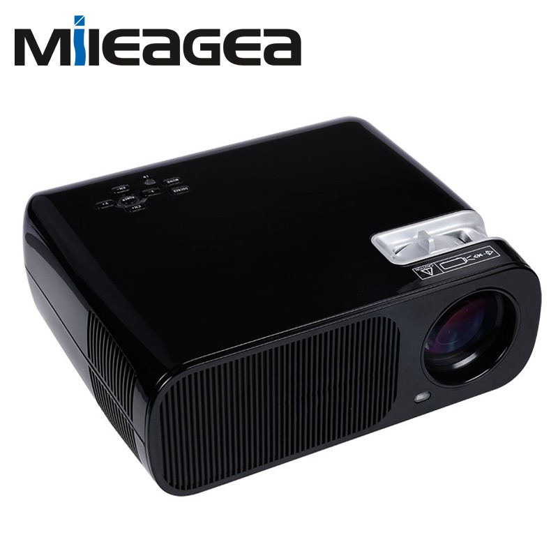 Mileagea led android wifi bl 20 projector 2600 lumen full for Mirror hd projector