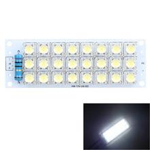 Super Bright 12V White Piranha 24 LED Panel Board Light Energy Saving Lamp Free Shipping MTY3(China (Mainland))