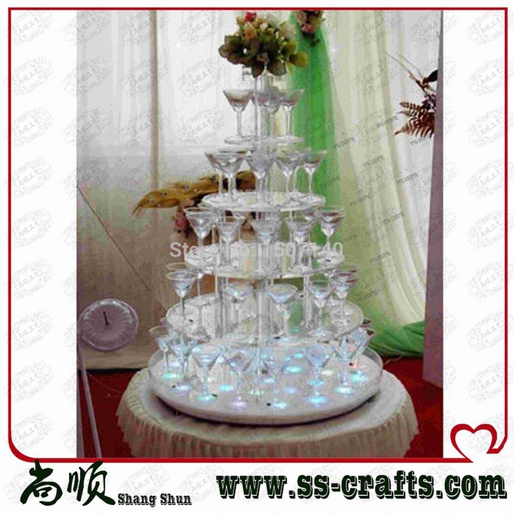 Stand Acrylic Wedding Cake Stand Champagne Display Stand Display
