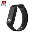TTLIFE Men Women Fitness Tracker Smart Watch Flash Remind 3D Pedometer Wristband Watch Temperature Sleep Monitor
