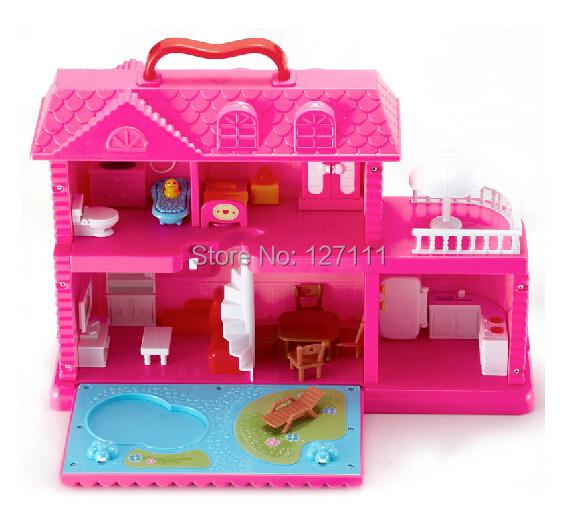 Toys For Girls Age 16 : Новая девушка собрать мечта дом игрушка Игры Дом Вилла