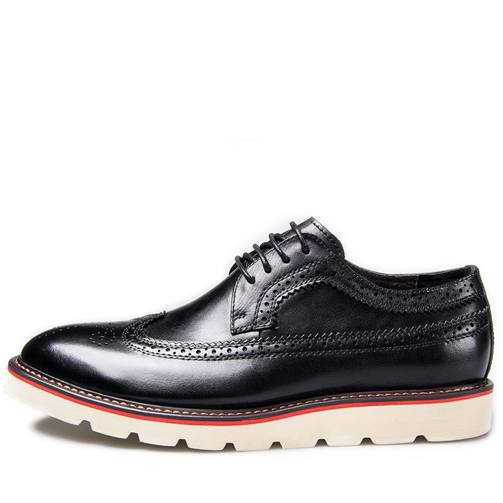 top brand shoes 2014 fashion genuine leather hollow