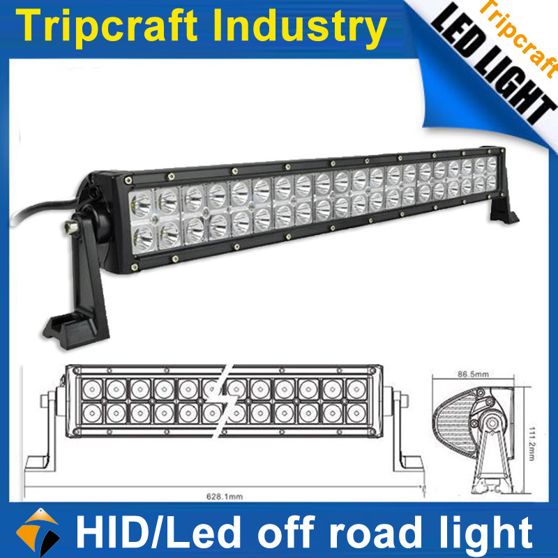 Cheap shipping 22 inch 3w super USA cree x12pcs 120W LED DRIVING LIGHT BAR offroad SUV ATV excavator,road roller light(China (Mainland))