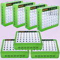7PCS Mars Hydro Reflector 48 5W LED Grow Light Lamp Ful spectrum For Hydroponics Medical Plants