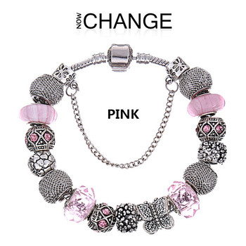 Top quality summer style wholesale aliexpress european charm beads fit pandora bracelets for women with a gift bag