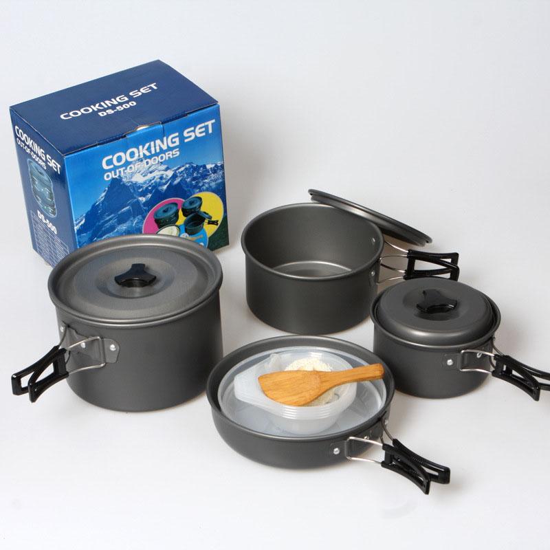 Promoci n de olla de cocina de aluminio conjunto compra for Utensilios de cocina de aluminio