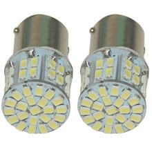 New 2pcs BA15S 1156 50SMD 3528 12V High Quality 50 Led SMD Car Brake Light Turn Signals Rear Parking Reverse Lamps(China (Mainland))
