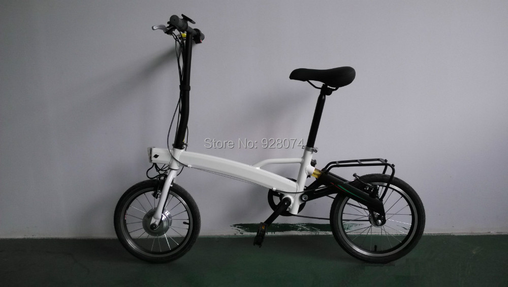 Factory Wholesale Mini Folding electric bicycle folding E bike with 250w motor aluminum frame and lithium