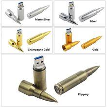 Metal Bullet Model USB 2.0 Memory Stick Flash Pen Drive 4GB 8GB 16GB 32GB 64GB 128GB 3 Years Warranty(China (Mainland))