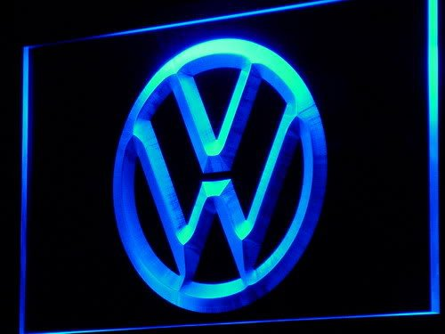 d145-b Volkswagen VW Car Logo Services LED Neon Light Sign Wholesale Dropshipping(China (Mainland))