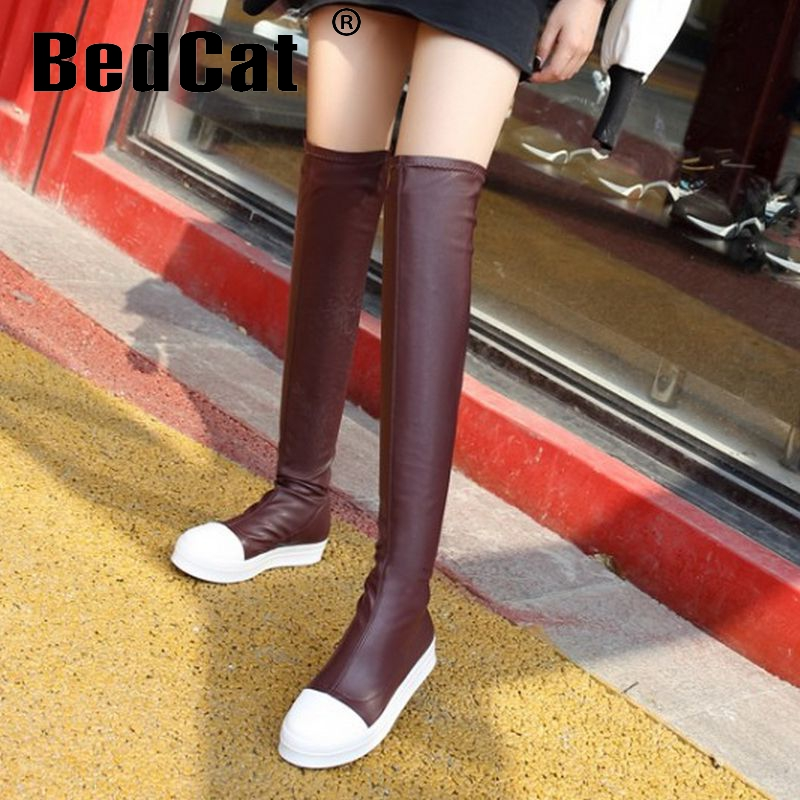 women flat over knee boots winter warm equestrian long boot round toe botas mujer sexy quality footwear shoes P21121 size 34-39<br><br>Aliexpress