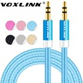 VOXKINK Jack Audio Cables 3 5mm Male to Male AUX Cables 1M 2M 3M Male to