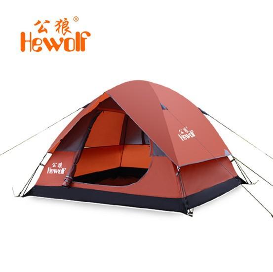 Туристическая палатка 2/3 Hewolf 2015 614 палатка туристическая husky bizon 3 classic цвет зеленый