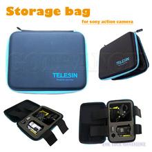 Camera Case Portable Tool Storage box hard bag for Sony HDR-AS200VR AS100V AS30V HDR-AZ1 FDR-X1000VR Action Cam Mini accessory(China (Mainland))