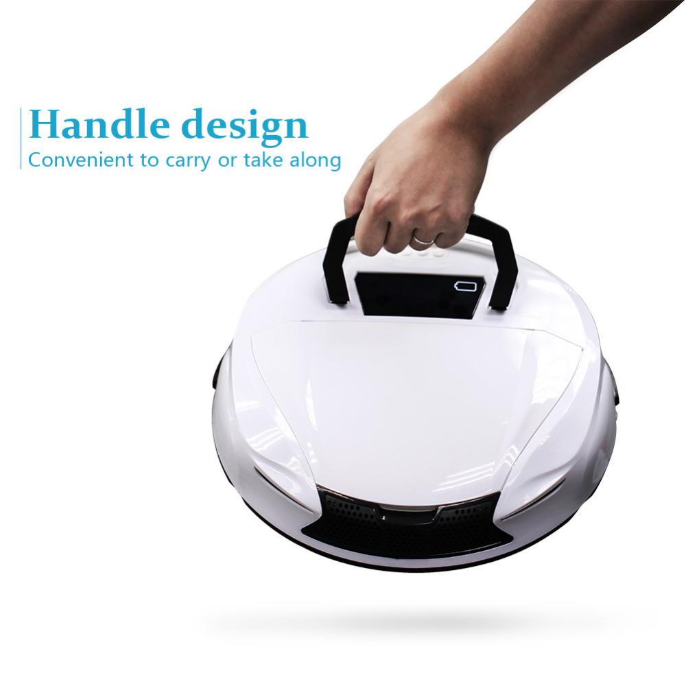 High Power Robot Vacuum Cleaner New Intelligent Robot Vacuum Cleaner Floor Cleaning Robot(China (Mainland))