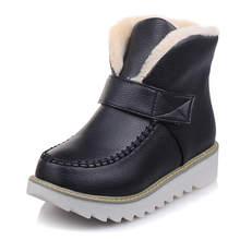 KARINLUNA neuheiten dropship große größe 44 schnee Stiefel Frauen Schuhe freizeit Winter plüsch russland nette stiefeletten schuhe frau(China)