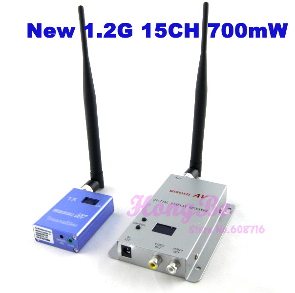 Guaranteed 100% New 1.2G 15CH 700mW Wireless A/V Transmitter & Receiver wholesale
