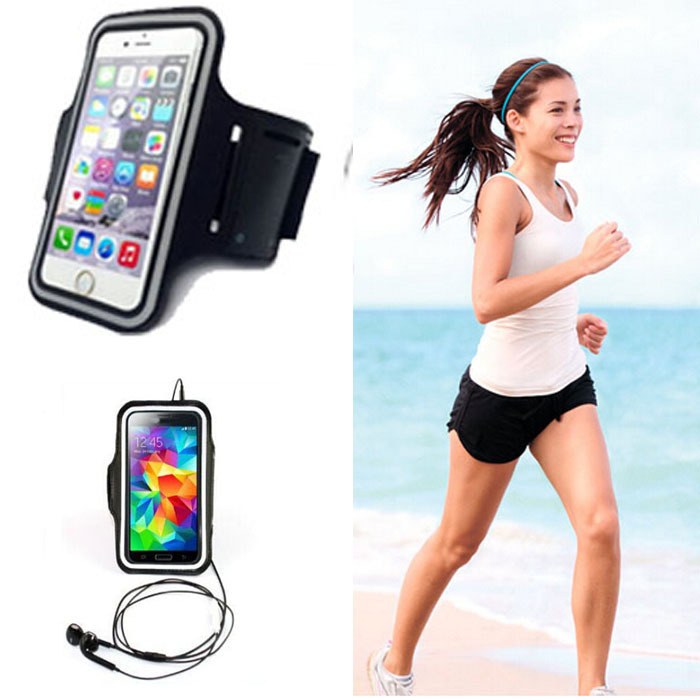 1X Colorful Sport GYM Running Portable Cover Accessory Arm Band Strap Phone Bag Pouch Sports Cover Case For BlackBerry Z30(China (Mainland))