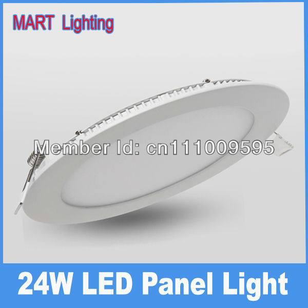Ultra bright 24W panel led downlight Round Warm  kitchen bedroom Mini spot Ceiling lamp