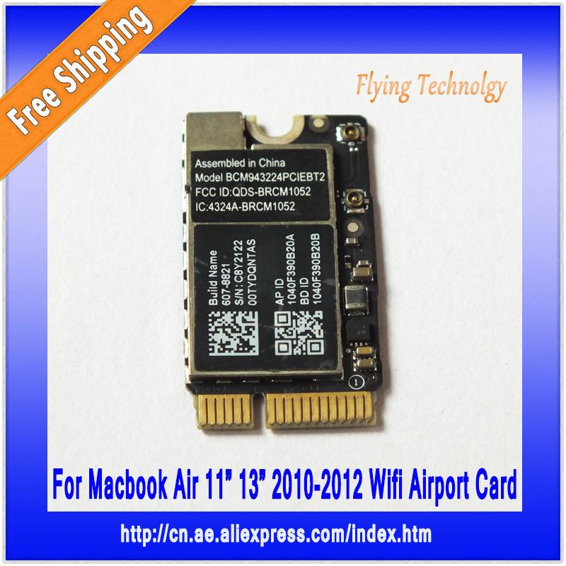 Original Wireless Bluetooth Wifi Airport Card BCM943224PCIEBT2 For Macbook Air A1369 A1370 A1465 A1466 2010 2011 2012