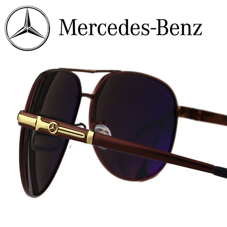Mercedes-Benz Sunglasses Polarized Sports Men Coating Mirror Driving Sun Glasses oculos Male Eyewear Accessories(China (Mainland))