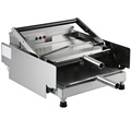 WanHe baked hamburger machine toaster Hamburg double layer machine board bun toaster Food baking McDonald s