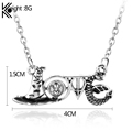 Slythrin Gryffindo Necklace Deathly Hallows Time Turner Hat Snake Fashion Accessories Love Jewelry Necklaces Pendants