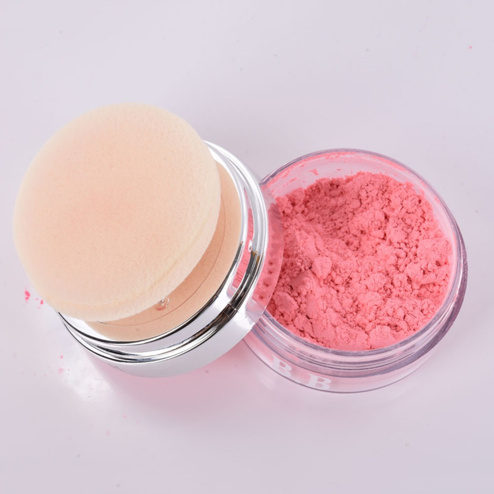2016 Sexy Face Shading Makeup Tool Mineral Cheek Rouge Loose Blush Powder Blusher(China (Mainland))