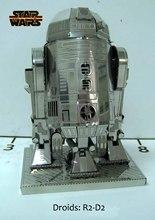 Star Wars Model Building Kits 3D Scale Models DIY Metallic Nano Puzzle Toys 2015 Hot sale Free Shipping Spain Brazil Israel USA(China (Mainland))