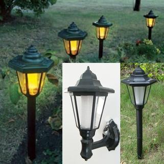Outdoor lights can hexagonal insert lawn lamp bonsai