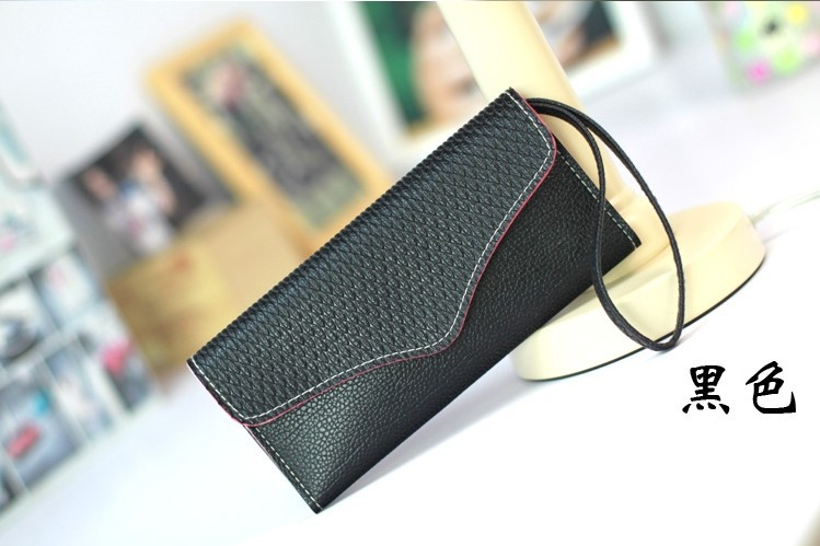 Fashionable multifunctional zip wallet pouch purse Leather case For blackberry Q5 Q10 z10 9900 9930 9720 z30(China (Mainland))