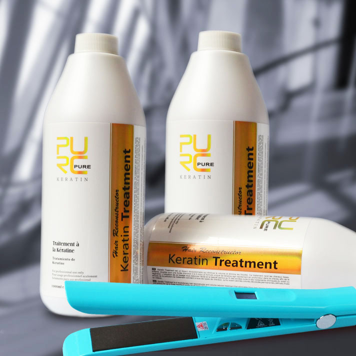 keratin treatment of the hair  repair hair smooth treatment buy 3 pcs get one free flat iron professional hair products<br><br>Aliexpress