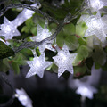 8M 50 LED Five pointed Star shape Twinkle String Light Battery Operated Fairy Lights Party Wedding