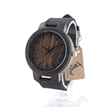 BOBO BIRD C24 New Fashion 100 Natural Bamboo Wood Watches Womens Luxury Vintage Round Watch for