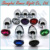 Colorful Metal Mini Anal Toys Butt Plug Booty Beads Stainless Steel+Crystal Jewelry, Adult Sex Toys Sex Products