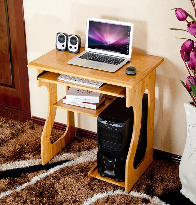 wood environmental desktop computer desk home simple. Black Bedroom Furniture Sets. Home Design Ideas
