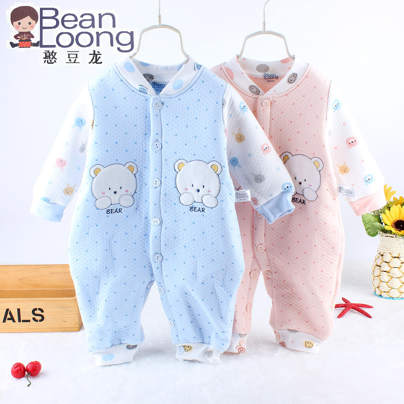 Baby Clothing High Quality Wadded Thermal Cotton Bebe