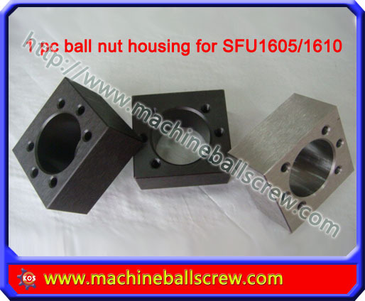CNC ball nut housings SFU1605/1610 screw flange - kong ke's store