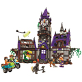 Bela Scooby Doo Mystery Castle Courtyard Minifigures Building blocks Compatible With Toy Kid Gift